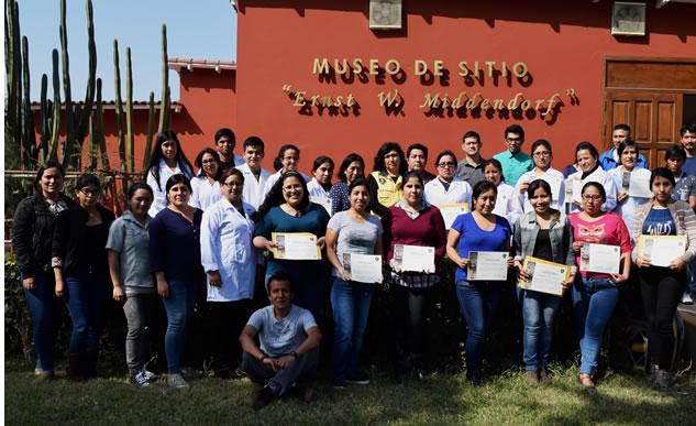 Parque de las leyendas clausura taller de capacitación a profesionales en gestión del patrimonio cultural