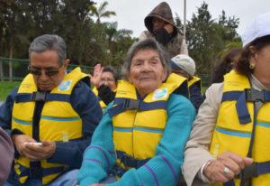 Adultos mayores celebran su día
